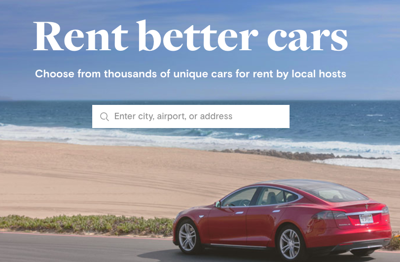 Can I rent my car to someone?