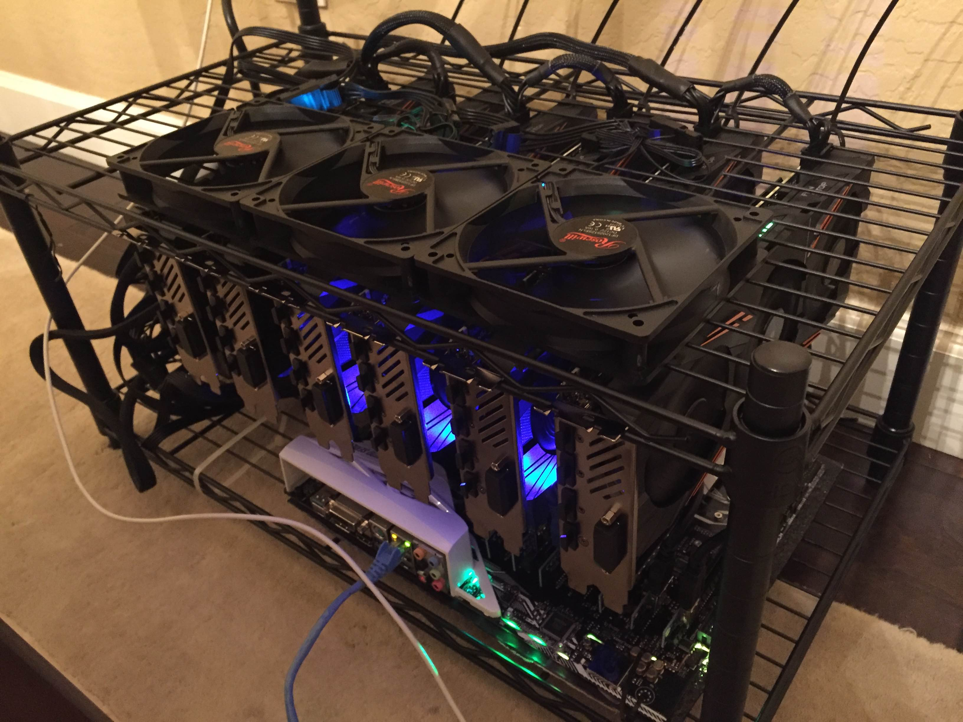 Cryptocurrency Mining Computer