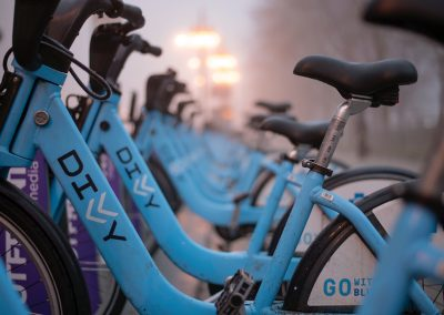 The rise of bike sharing