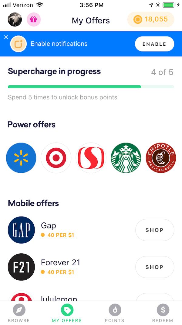 Drop App Offers